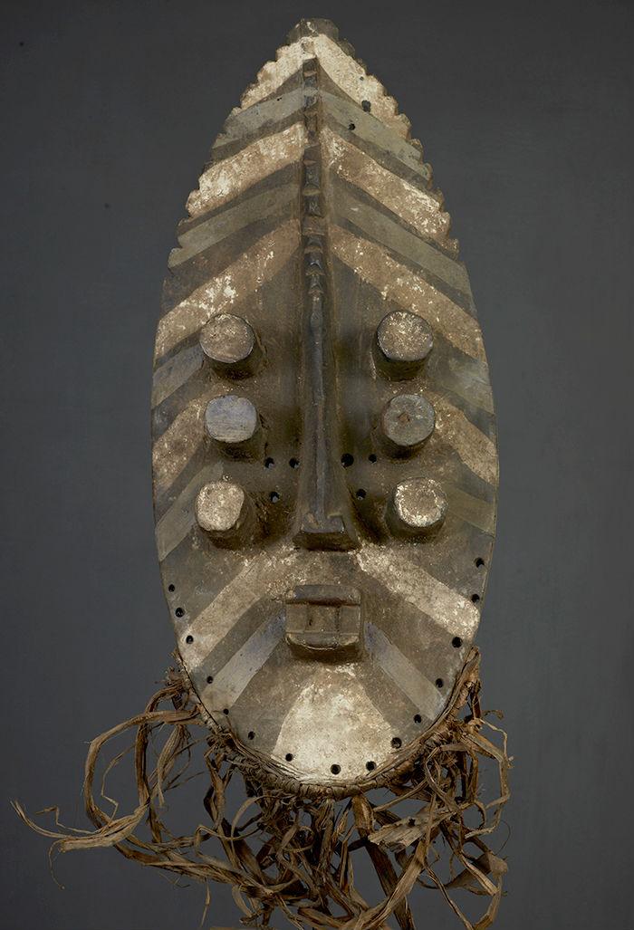 masque africain grebo
