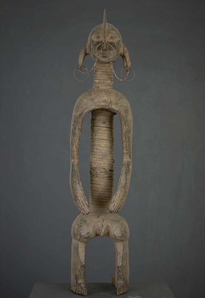 statue africaine mumuye