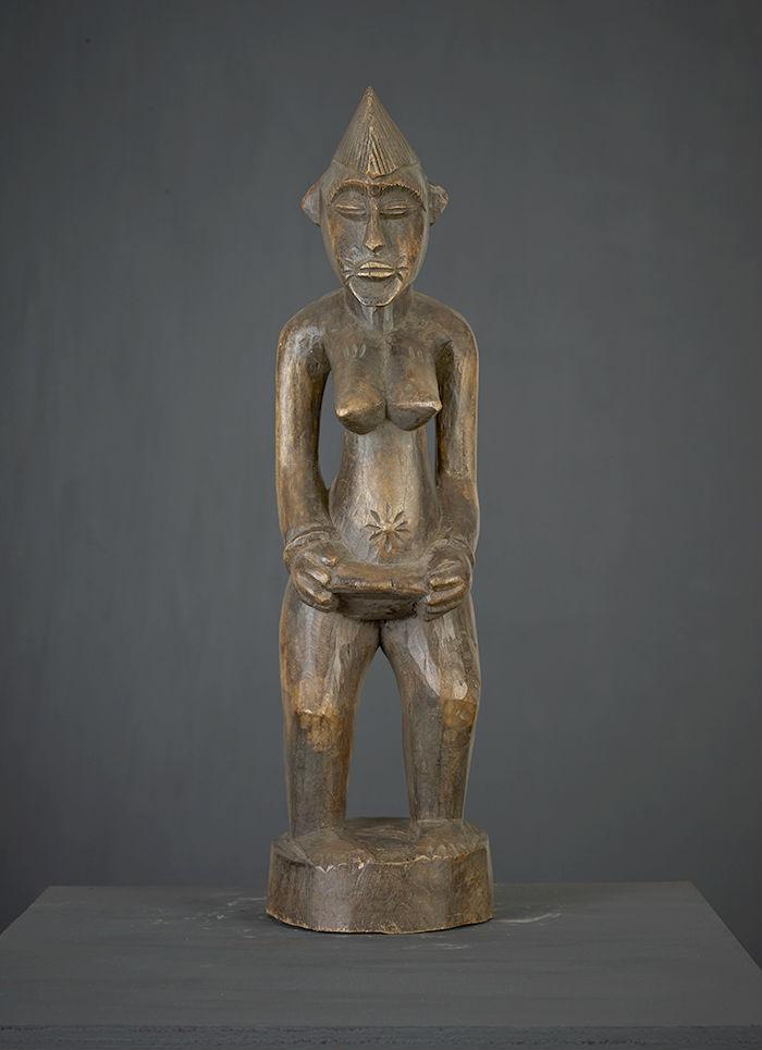 statue africaine senoufo